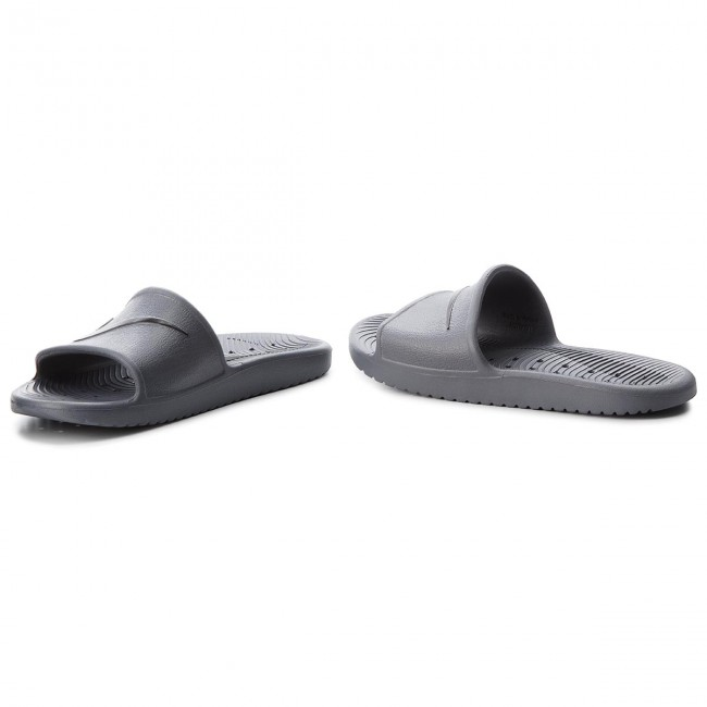 many styles multiple colors size 7 Slides NIKE - Kawa Shower 832528 010 Dark Grey/Black - Clogs and ...