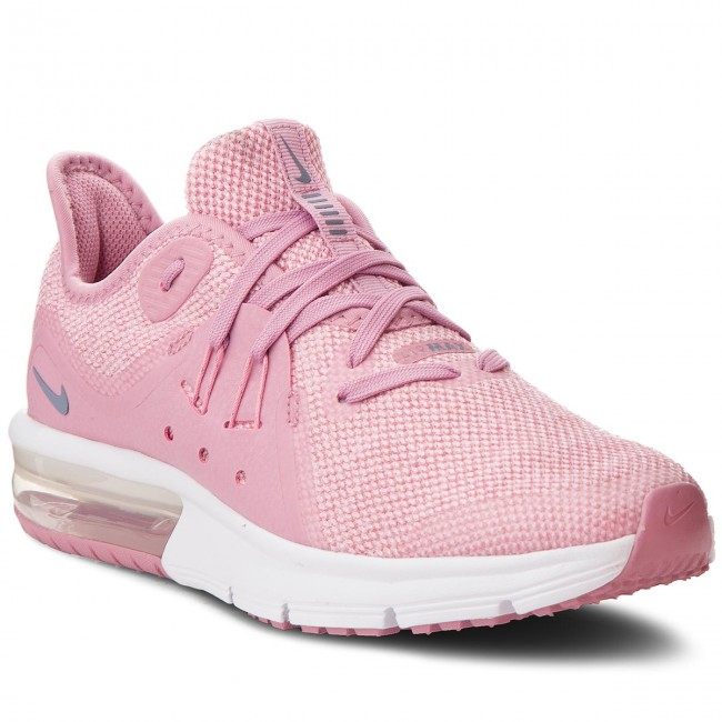 100% genuine great quality new product Shoes NIKE - Air Max Sequent 3 (GS) 922885 601 Elemental Pink ...