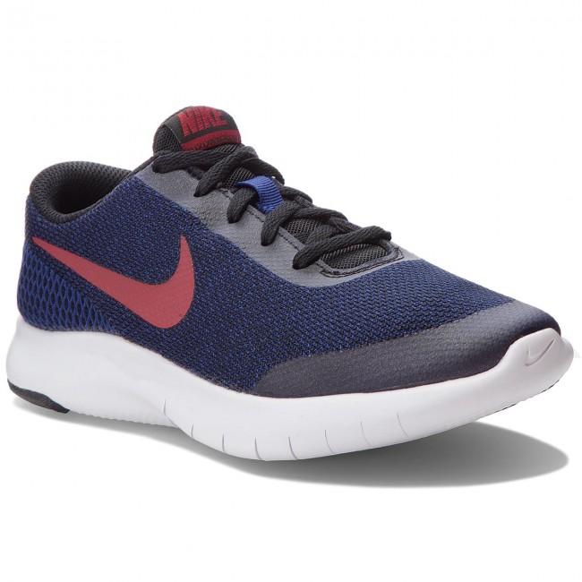 Shoes NIKE Flex Experience Rn 7 (GS) 943284 007 BlackRed Cush