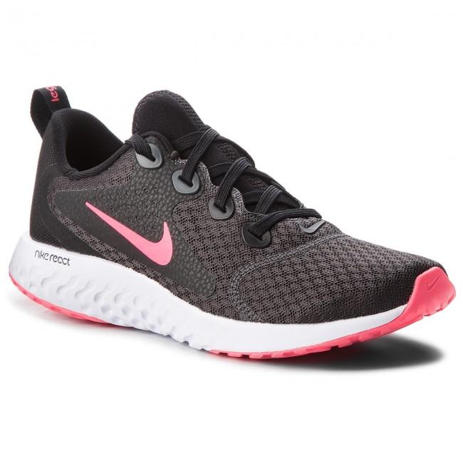 Shoes NIKE Legend React (GS) AH9437 001 BlackRacer PinkAnthracite