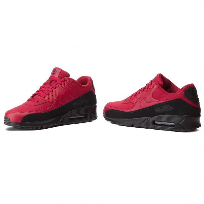 Shoes NIKE Air Max 90 Essential AJ1285 010 BlackRed Crush
