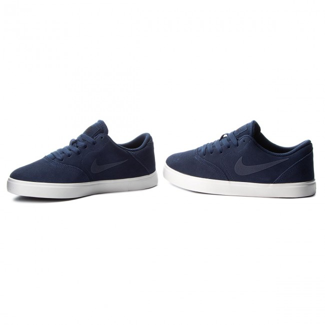 Zapatos NIKE Sb Check Suede (GS) AR0132 400 Midnight NavyMidnight Navy