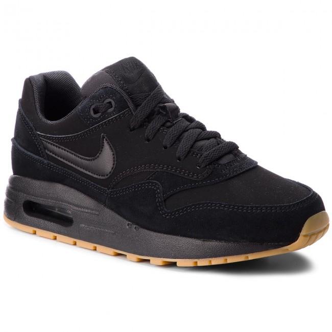 Shoes NIKE Air Max 1 (GS) 807602 008 BlackBlackBlack