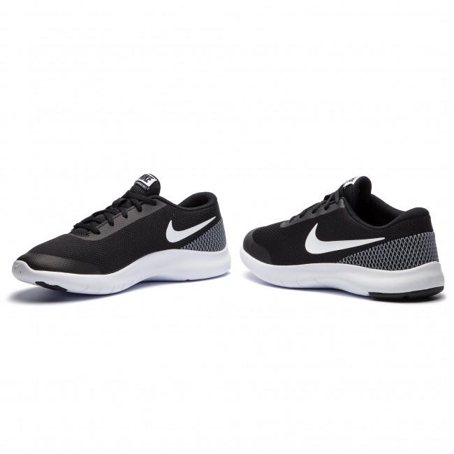Shoes NIKE Flex Experience Rn 7 (GS) 943284 001 BlackWhiteWhite