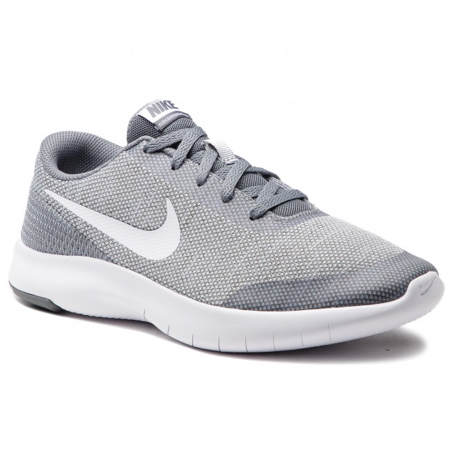 Shoes NIKE Flex Experience Rn 7 (GS) 943284 003 Wolf GreyWhiteCool Grey