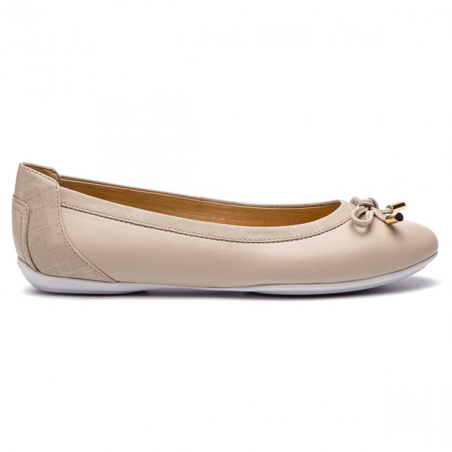 Flats GEOX D Charlene A D84Y7A 05404 C5AH6 BeigeLt Taupe