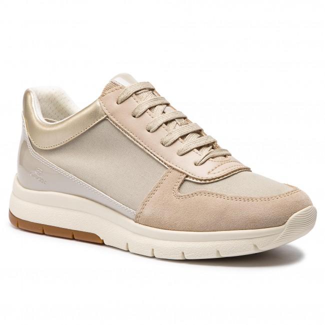 geox ballerina schwarz beige, Geox Low Sneakers