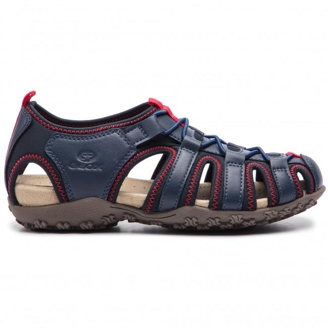 Geox Schuhe SAND.STREL blau Damen Sandale D7125U 0EK15 C4008 NEU