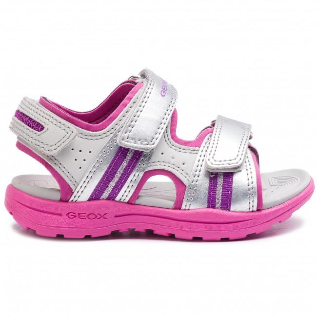 Sandals GEOX J Vaniett G. B J926AB 05015 C0162 M SilverFuchsia VxftW