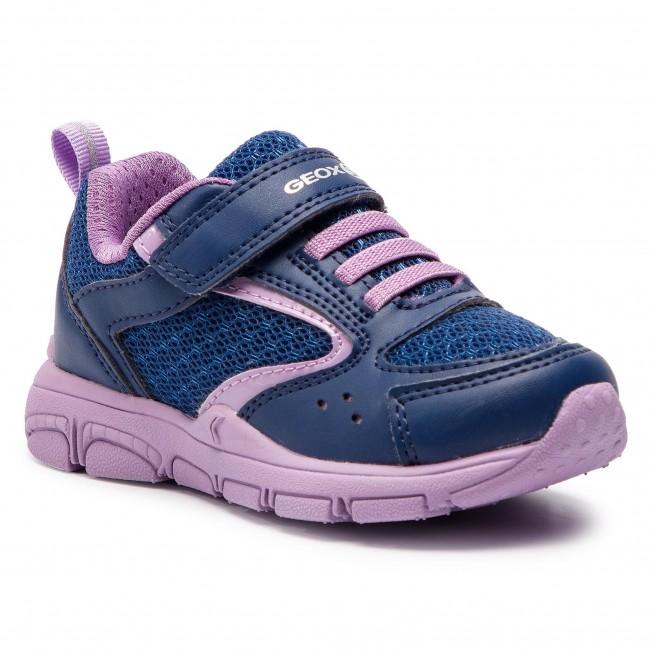 Sneakers GEOX J N.Torque G.A J928HA 0BC14 C4215 M NavyLilac