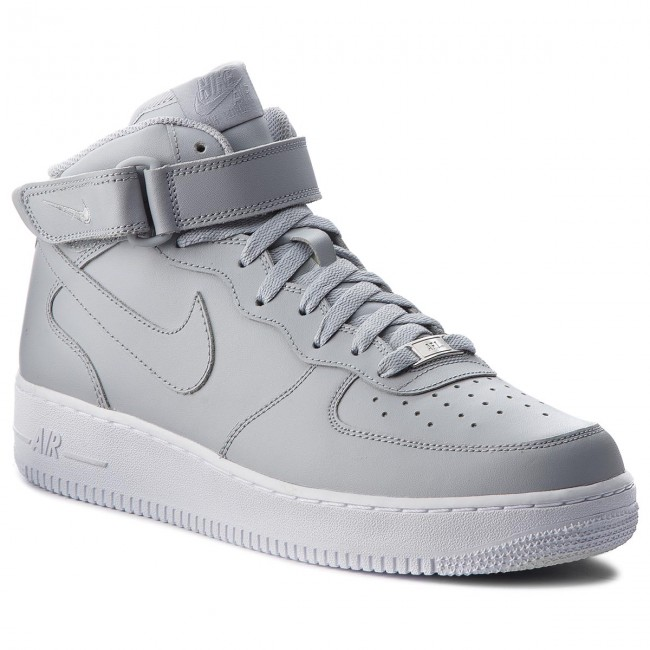Shoes NIKE Air Force 1 Mid '07 315123 046 Wolf GreyWolf GreyWhite