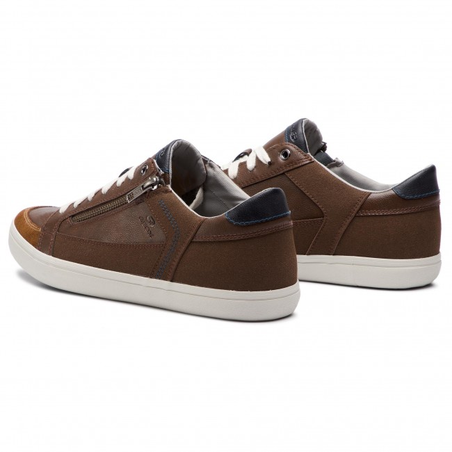 Sneakers GEOX U Halver B U923AB 054AU C6288 BrowncottoSand MfSLA