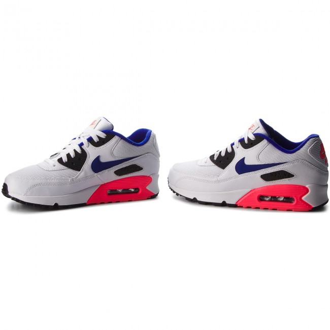 Shoes NIKE Air Max 90 Essential 537384 136 WhiteUltramarineSolar Red