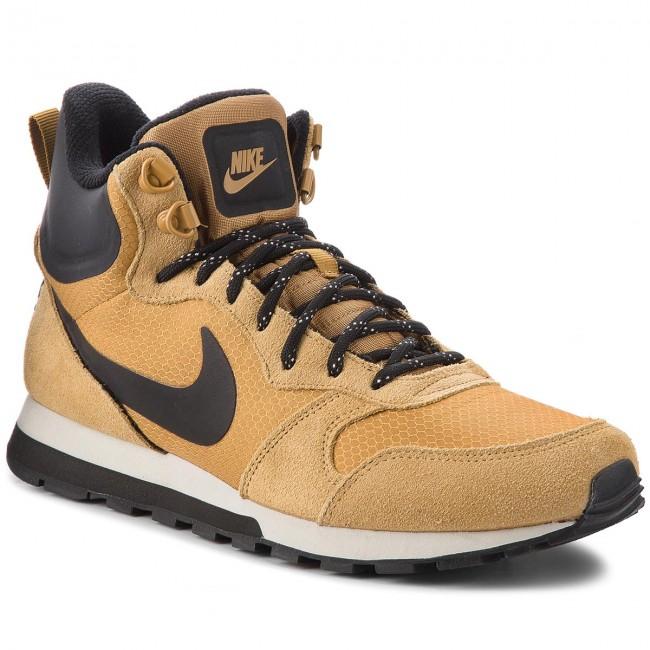 Si bestia ruido  Shoes NIKE - Md Runner 2 Mid Prem 844864 701 Wheat/Black/Light Bone -  Sneakers - Low shoes - Men's shoes | efootwear.eu