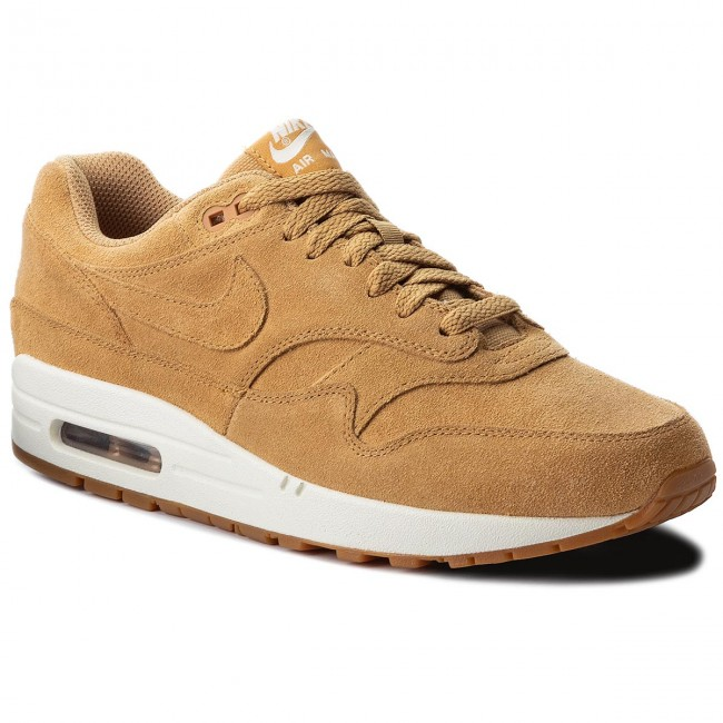 Shoes NIKE Air Max 1 Premium 875844 203 FlaxFlaxSailGum Med Brown