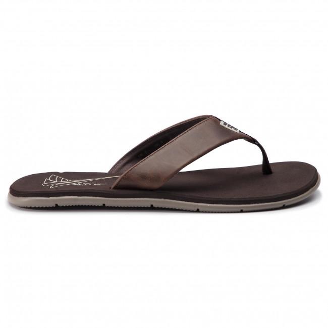 Slides HELLY HANSEN - Seasand Leather Sandal 11495 713 Espresso/Fallen Rock/Castle Wall - Flip-flops - Mules and sandals - Men's shoes