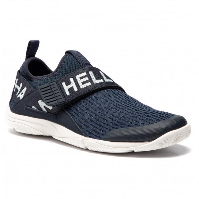 Shoes HELLY HANSEN Hydromoc Slip On Shoe 114 68.597 NavyBleached AquaOff White