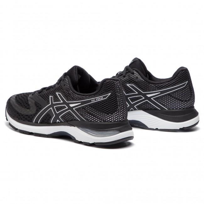 Schuhe ASICS Gel Pulse 10 1011A007 BlackSilver 002 für