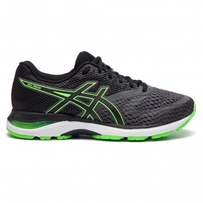 Shoes ASICS Gel Pulse 10 1011A007 Dark GreyGreen Gecko 021