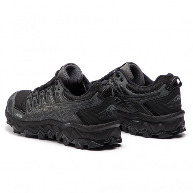Shoes ASICS Gel FujiTrabuco 7 G TX GORE TEX 1012A190 BlackDark Grey 001