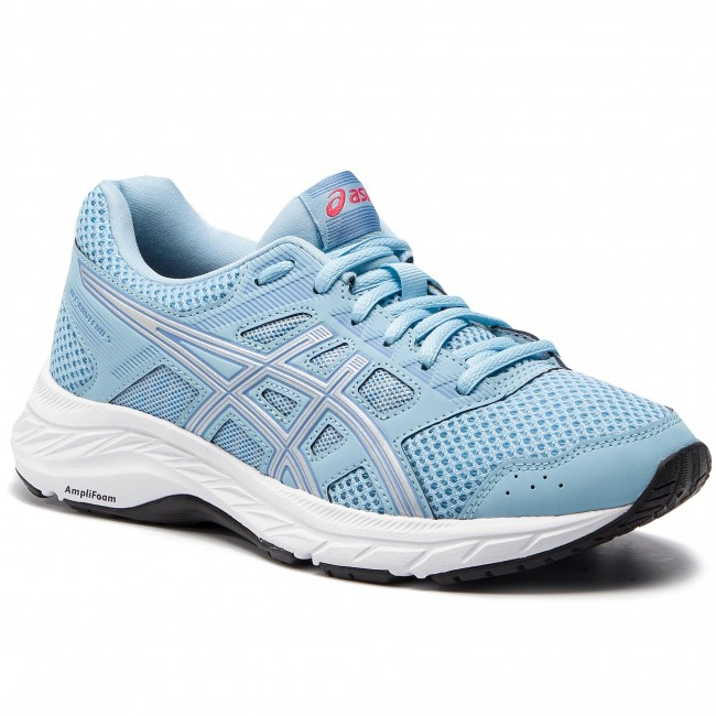 50206670bb685 Shoes ASICS - Gel-Contend 5 1012A234 Skylight/Silver 400