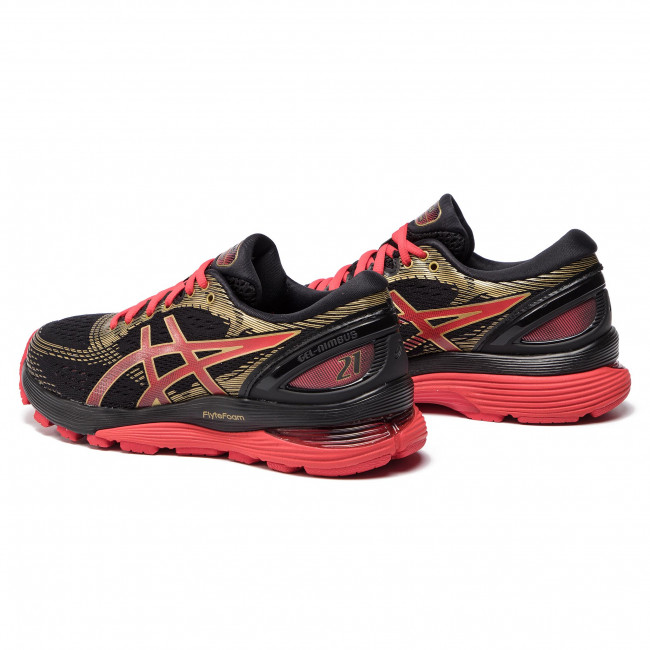 Shoes ASICS Gel Nimbus 21 1012A235 BlackClassic Red 001