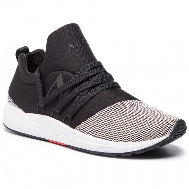 Sneakers ARKK COPENHAGEN Raven Mesh S E15 IL1400 0099 M BlackWhite