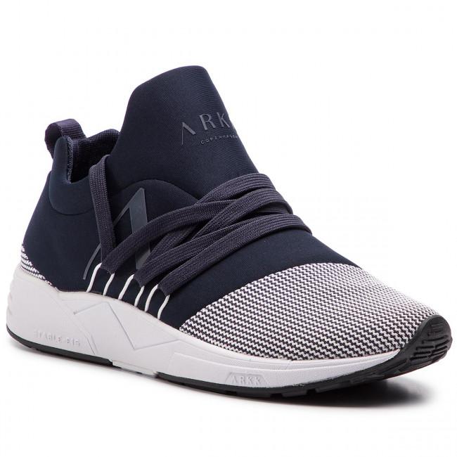 53ddf3ac Sneakers ARKK COPENHAGEN - Raven Mesh S-E15 IL1401-0052-W Midnight/White -  Sneakers - Low shoes - Women's shoes - efootwear.eu