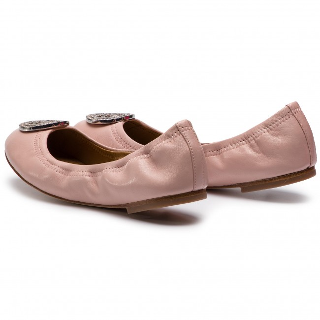 dcea4b2e9 Flats TORY BURCH - Liana Ballet Flat 46084 Pink 654 - Ballerina ...