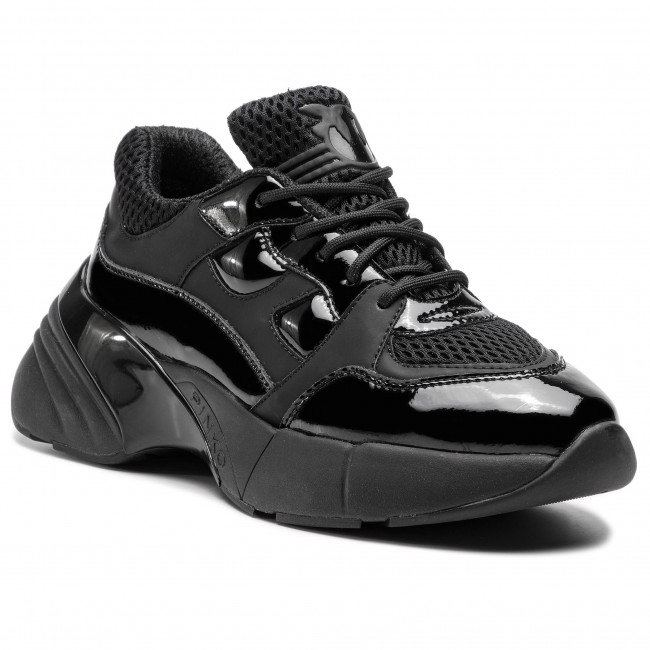 00b2e373612f Sneakers PINKO - Rubino PE 19 BLKS1 1H20LS Y5BP Black Z99 - Sneakers - Low  shoes - Women's shoes - efootwear.eu