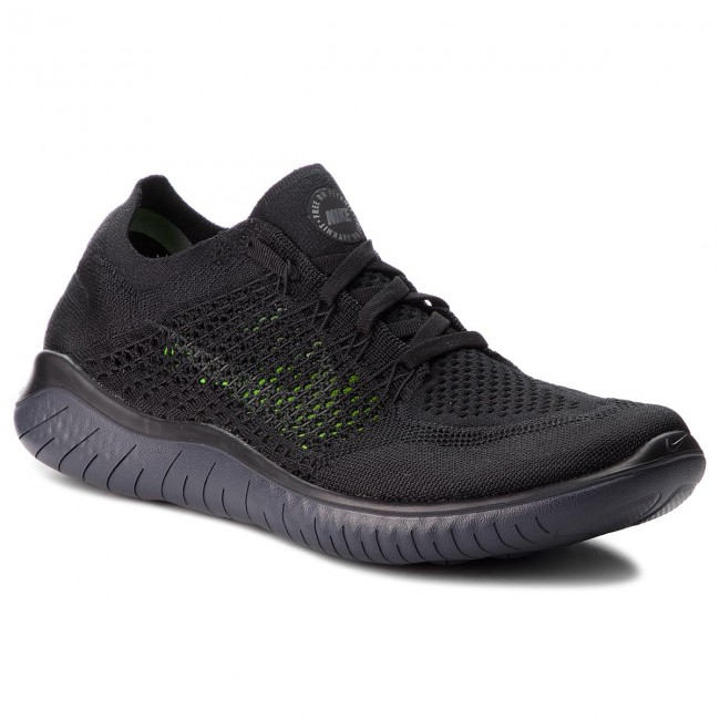 gorące produkty oryginalne buty Trampki 2018 Shoes NIKE - Free Rn Flyknit 2018 942838 002 Black/Anthracite