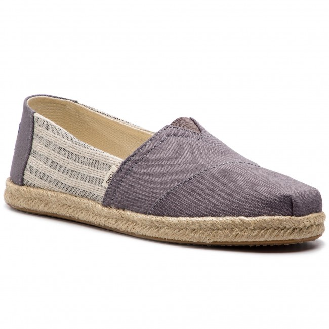Espadrilles TOMS Classic 10013496 Drizzle Grey Ivy