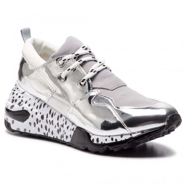 69a8bf47b5e Sneakers STEVE MADDEN - Cliff Sneaker SM11000185-04005-751 Silver