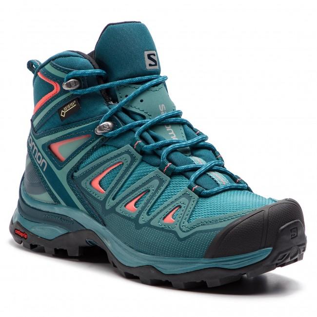low priced c6fd1 328cb Trekker Boots SALOMON - X Ultra 3 Mid Gtx W GORE-TEX 404755 20 W0  Hydro./Reflecting Pond/Dubarry