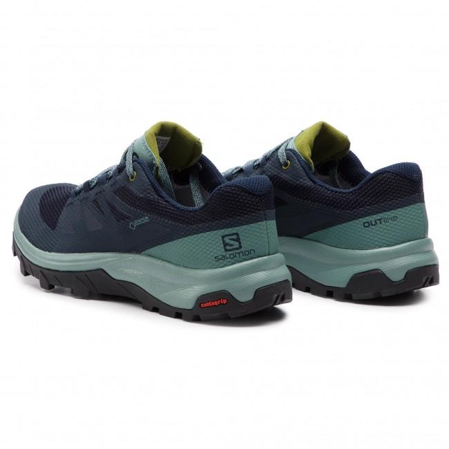 98876c4f0a3 Trekker Boots SALOMON - Outline Gtx W GORE-TEX 406188 20 V0 Trellis/Navy  Blazer/Guacamole