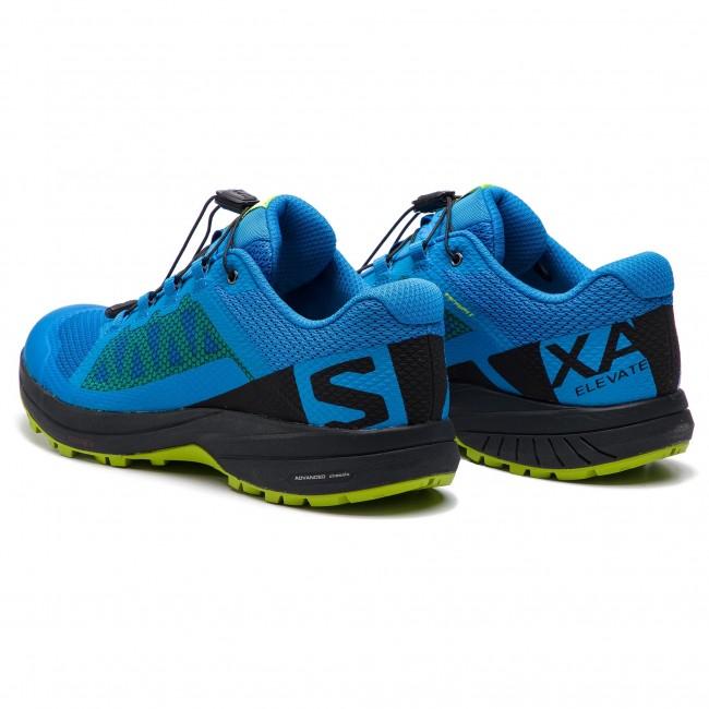 Shoes SALOMON Xa Elevate 406705 27 V0 Indigo BuntingBlackLime Green