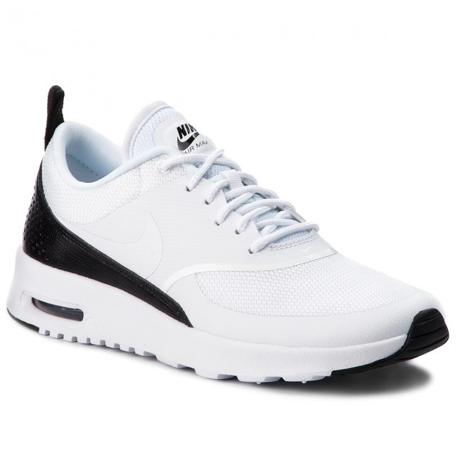 arrives free delivery available Shoes NIKE - Air Max Thea 599409 111 White/White/Black - Sneakers ...