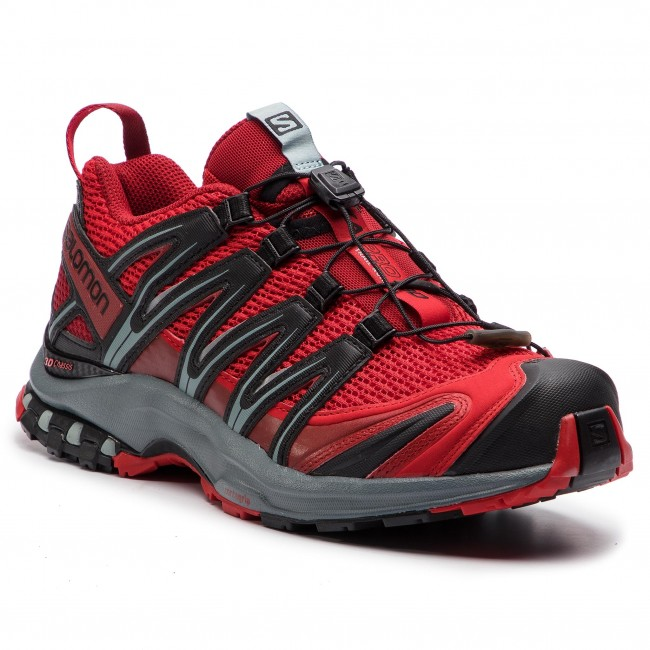 salomon xa pro 3d rouge gore tex grey