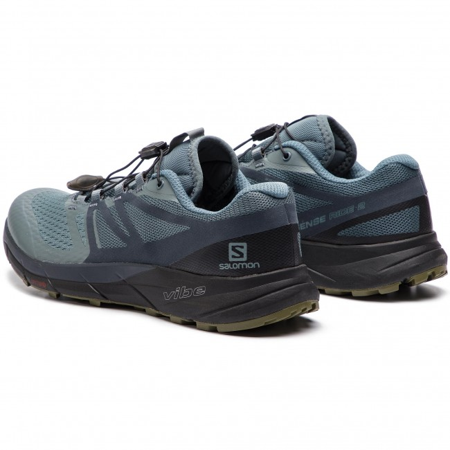 best cheap 06da3 70b55 Shoes SALOMON - Sense Ride 2 406739 27 V0 Stormy Weather/Ebony/Black