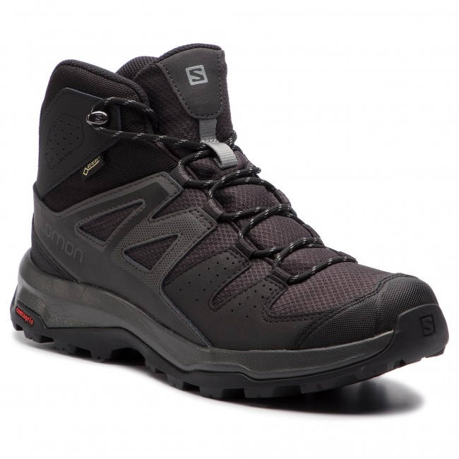 f47f3869 Trekker Boots SALOMON - X Radiant Mid Gtx GORE-TEX 406745 27 V0 Phantom/ Magnet/Monument - Trekker boots - High boots and others - Men's shoes -  efootwear.eu
