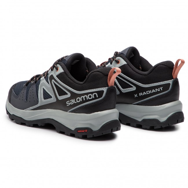 Trekker Boots SALOMON X Radiant W 406760 24 M0 EbonyQuarryTawny Orange