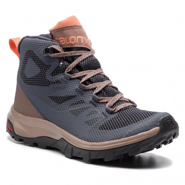 salomon outline mid gtx womens hiking boots europe