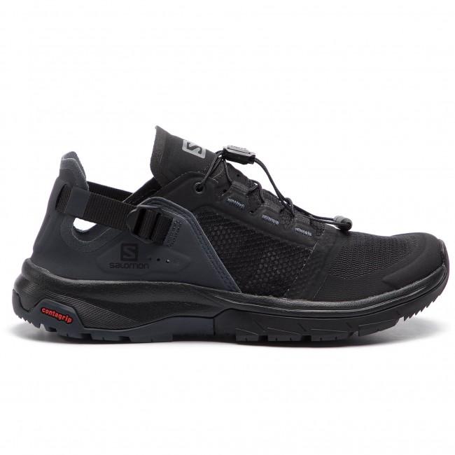 eb0d37d2 Trekker Boots SALOMON - Techamphibian 4 W 406813 22 V0 Black/Ebony/Quiet  Shade