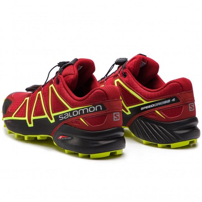 salomon speedcross 4 gtx red dahlia 19