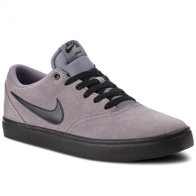 Shoes NIKE Sb Check Solar 843895 001 BlackWhite