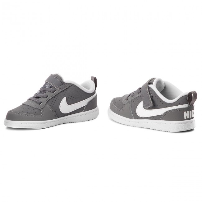 cheap for discount shoes for cheap amazon Shoes NIKE - Court Borough Low (TDV) 870029 002 Cool Grey/White