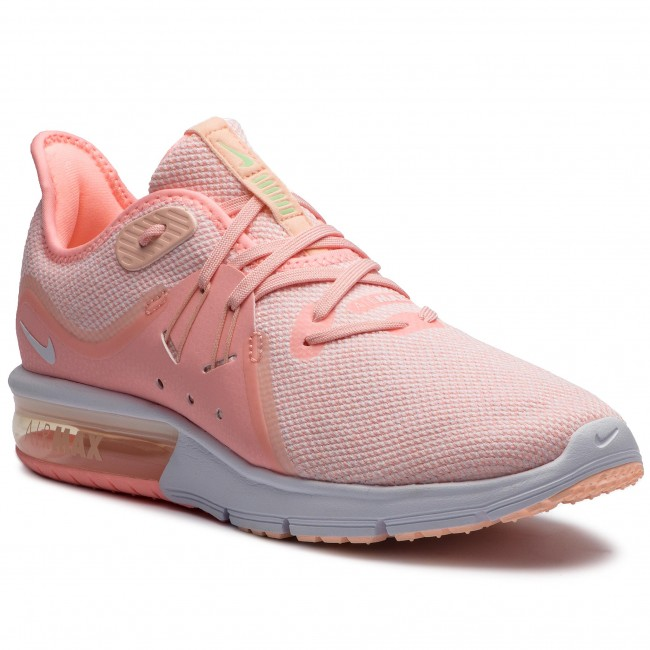 Shoes NIKE Air Max Sequent 3 908993 603 Pink TintWhiteCrimson Tint