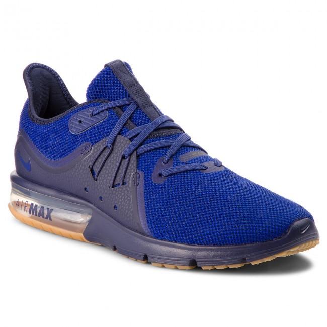 Shoes NIKE Air Max Sequent 3 921694 405 ObsidianDeep Royal Blue