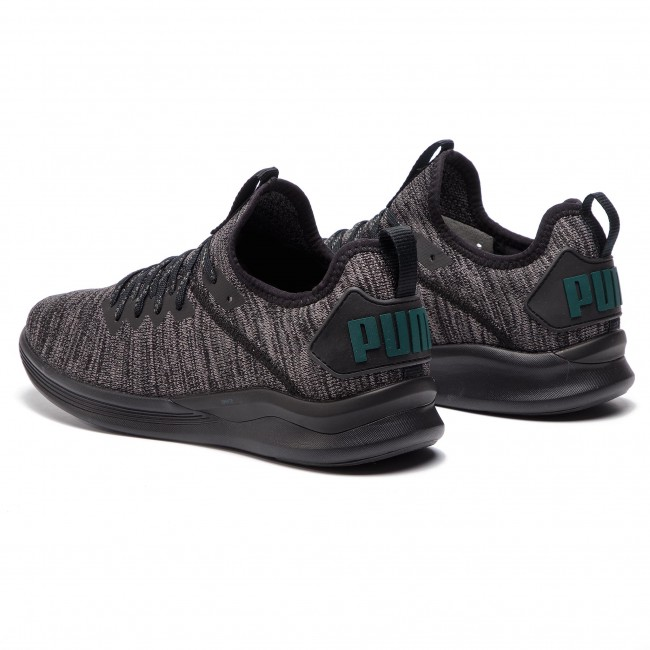 big sale 20c31 e2bb4 Shoes PUMA - Ignite Flash EvoKnit 190508 20 Black/Dk Grey/Ponderosa Pine