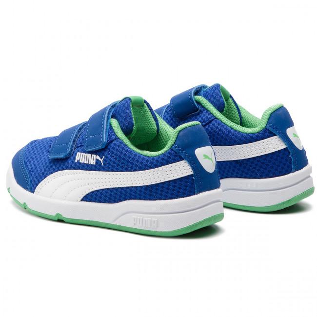 valtuutettu sivusto saapuvat poimittu Sneakers PUMA - Stepfleex 2 Mesh V Ps 190703 04 Surf The Web/Green/White